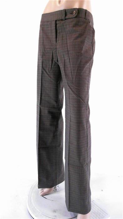 van heusen studio new dress wide leg stretch brown 6 pants